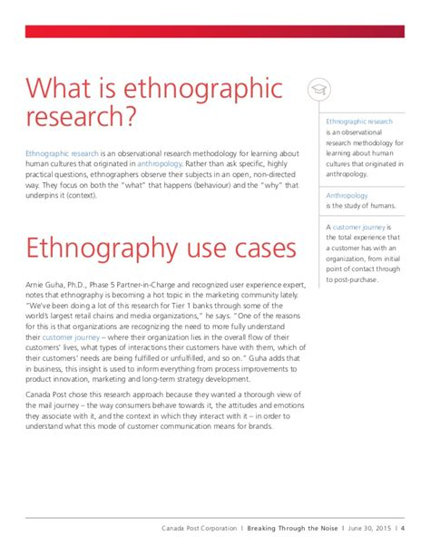 ethnographic research paper topics what is an ethnographic research paper
