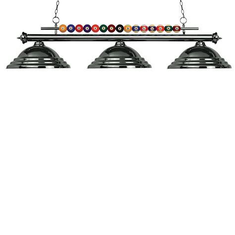 z lite 170gm sgm 3 light shark billiard pool table light