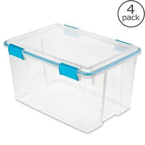 clear storage bins totes storage organization