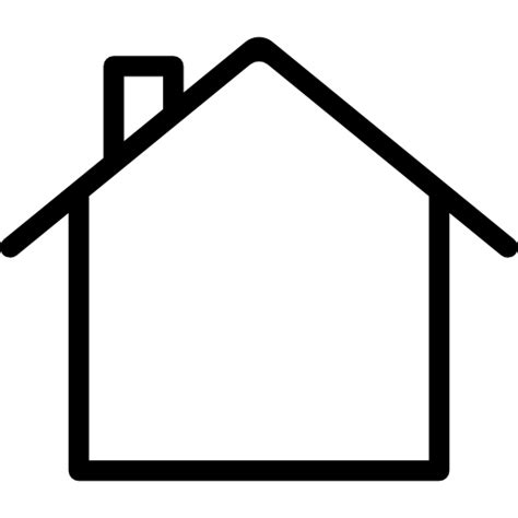 house outline house outline free buildings icons