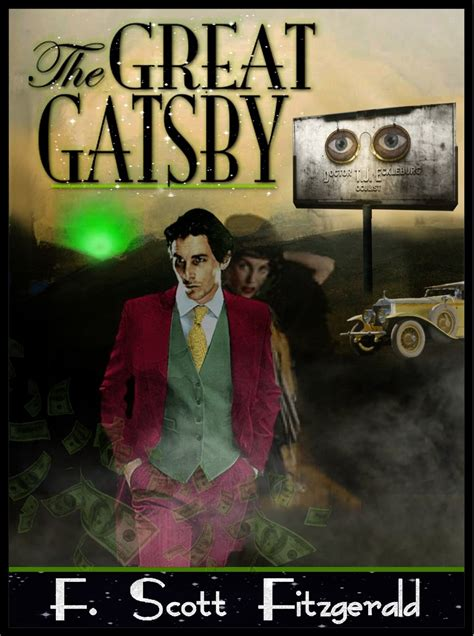 symbolism of great gatsby cover the great gatsby cover by lazedward6 on deviantart