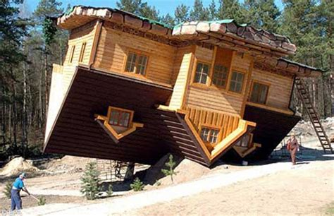 upside down house poland 15 unusual and creative buildings