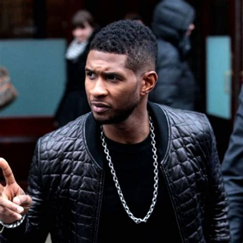 usher afro fade haircut usher haircut how to style hair like usher atoz