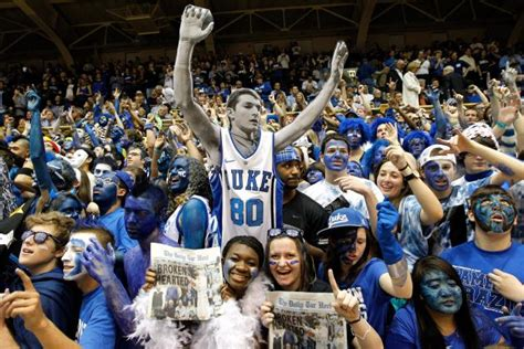best college student sections ranking the best student sections in college basketball