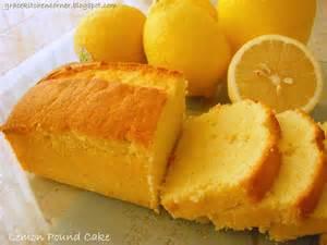 Kitchen corner lemon pound cake