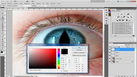 youtube tutorial de photoshop cs5 tutorial photoshop cs5 espa 241 ol efecto ojo de gato youtube