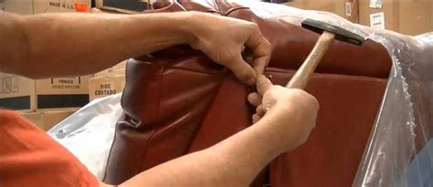 how to repair a small tear in leather couch sofa recovering a great aspect of maintenance