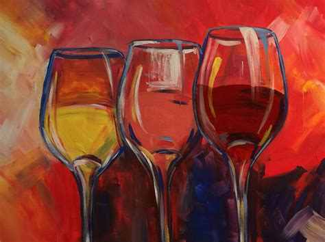 paint nite gift card wine and canvas painting mafiamedia