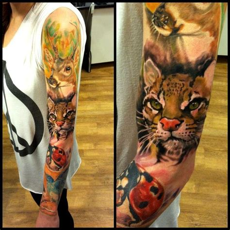animal tattoo sleeve tumblr 28 best images about that s sleeve on pinterest