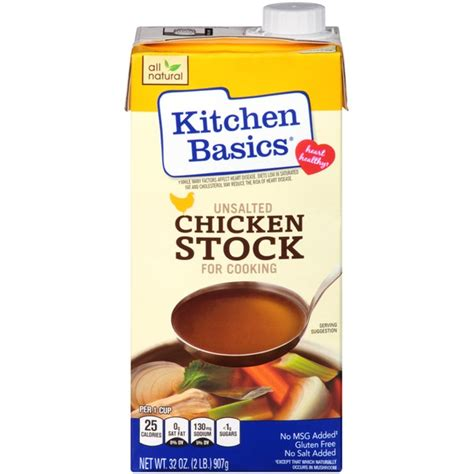 kitchen basics unsalted chicken stock from cub instacart