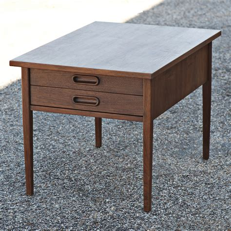 mid century modern side end table ebay