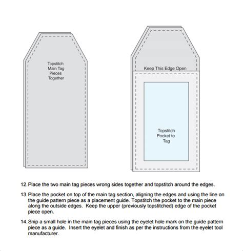 sle luggage tag template 28 free documents in pdf psd