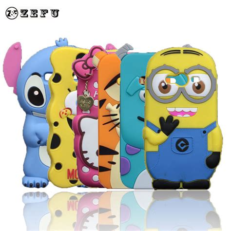 Galaxy V Ace 4 G313 3d Silicone Disney Mickey Minnie Mouse new despicable me silicone for samsung