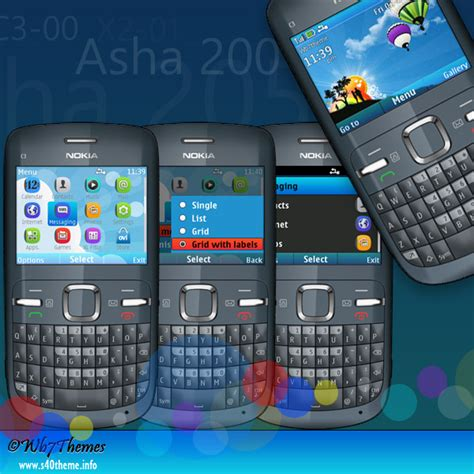 themes nokia asha 205 ilove u best free theme c3 00 x2 01 320x240 s406th wb7themes