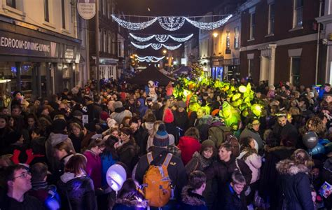 old town prepares for christmas lights switch on the