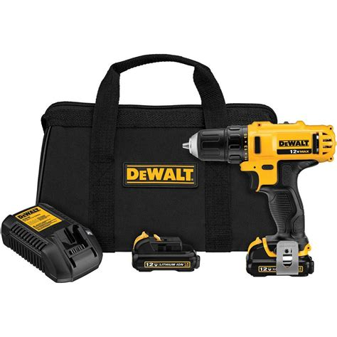 dewalt 12 volt max lithium ion cordless 3 8 in drill
