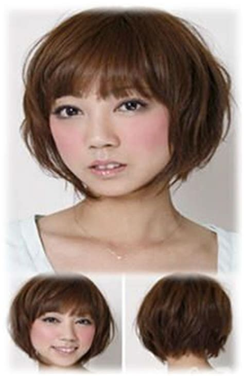 asian face shape hairstyle short asian hairstyles for round faces www asian