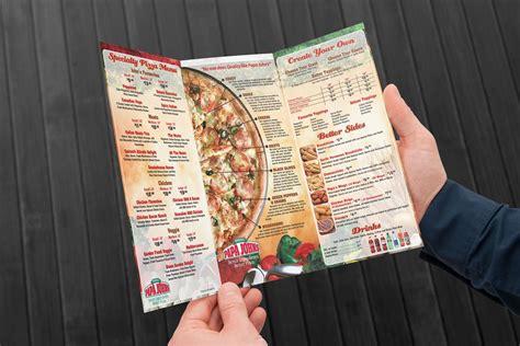menu design vancouver papajohns 3 tri fold 3000x2000 retina design creative media