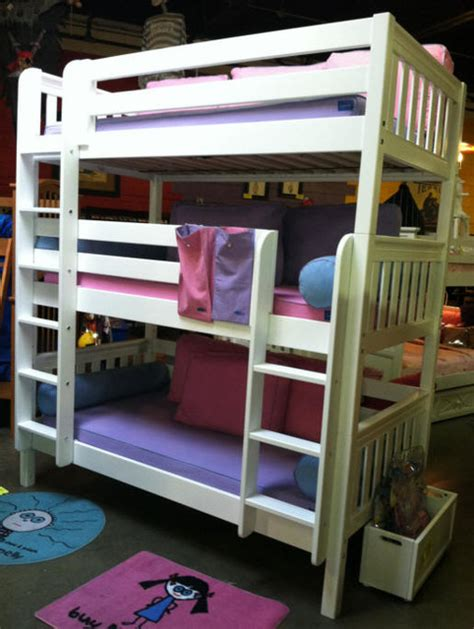 Bunk Beds Mn Bunk Bed Modern Bunk Beds Minneapolis By Totally Furniture Toys