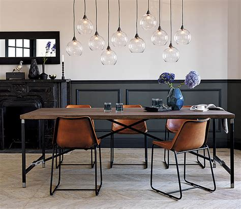 industrial chair rail so you need a leather dining chair it lovely