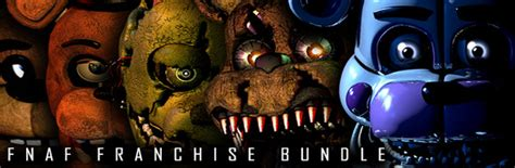 Save 57 on fnaf franchise bundle on steam