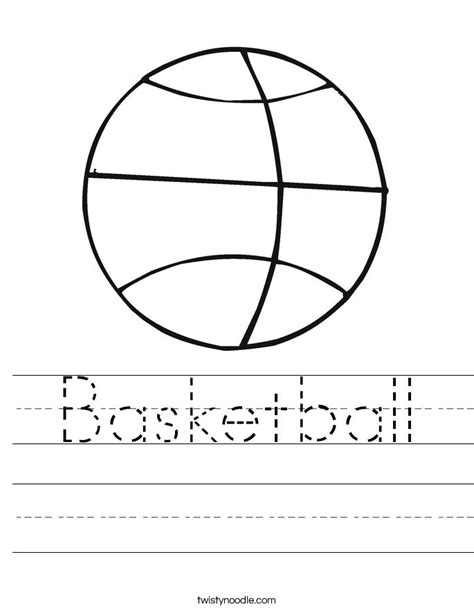 preschool coloring pages for march coloring sheet b for basketball basketball worksheet