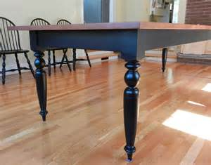 Legs For Dining Room Table Tiger Maple Dining Room Table W Turned Legs Hawk Ridge
