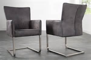 freischwinger stuhl mit armlehne freischwinger stuhl consul mit armlehnen vintage grau