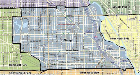 ukrainian chicago map ukrainian chicago map
