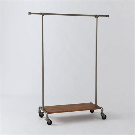 Metal Clothing Racks by 10 Easy Pieces Metal Clothing Racks Remodelista