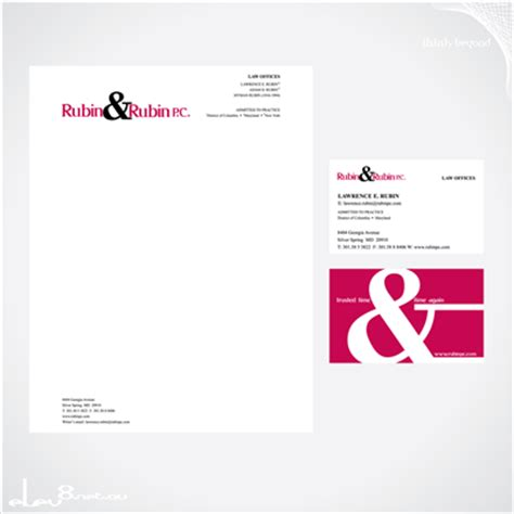designcrowd invoice law firm stationary