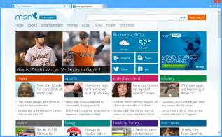 The new msn website loads faster than the version it replaces