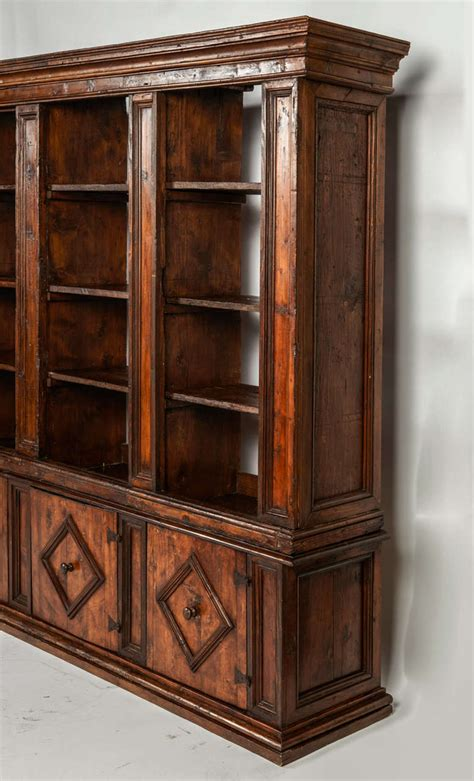 A Early 18th C Italian Bookcase Or Dining Room Cabinet Italian Bookshelves
