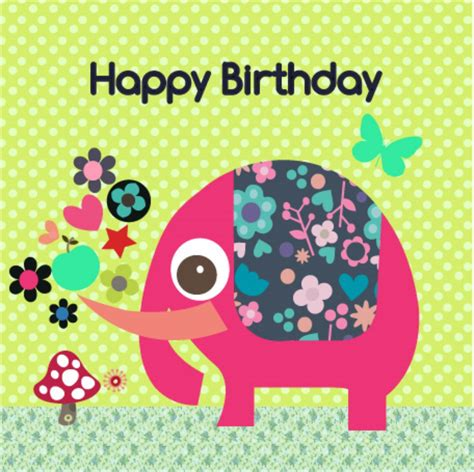 birthday card elephant birthday cards gangcraft net