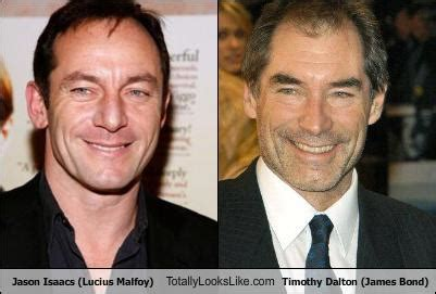 timothy dalton in harry potter jason isaacs lucius malfoy totally looks like timothy