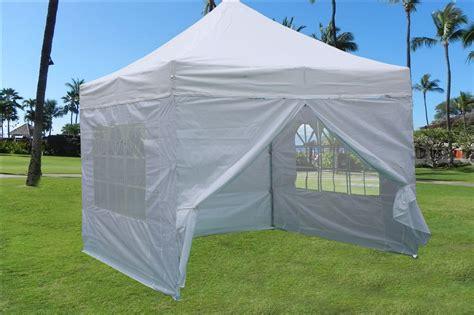 Enclosed Canopy 10 X10 Enclosed Pop Up Canopy Folding Tent Gazebo