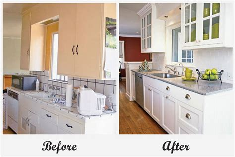 Facelift Kitchen Cabinets by Room Makeovers Each Featuring A Very Different Before And After