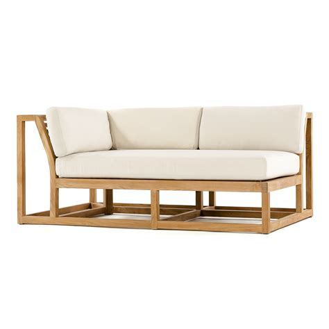 teak sectional sofa maya teak outdoor sectional sofa westminster teak