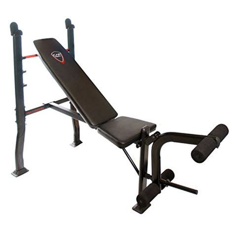 bench press and weight set deluxe weight bench press equipment including a 100lbs
