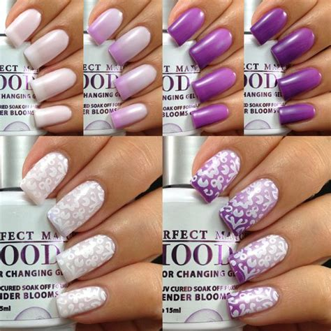 changing color nails 15 color changing nail inspirations cool nail
