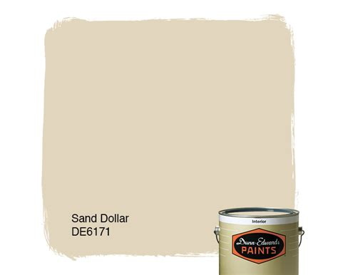 sand dollar de6171 dunn edwards paints