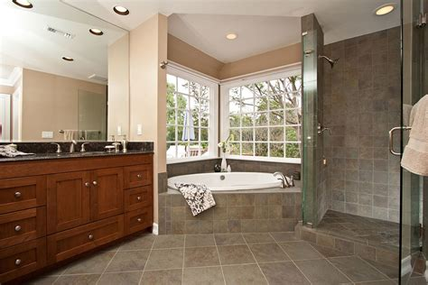 corner tub bathroom designs corner tub shower combo bathroom traditional with bathroom
