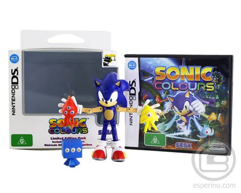 sonic colors ds sonic colours limited edition ds unboxing