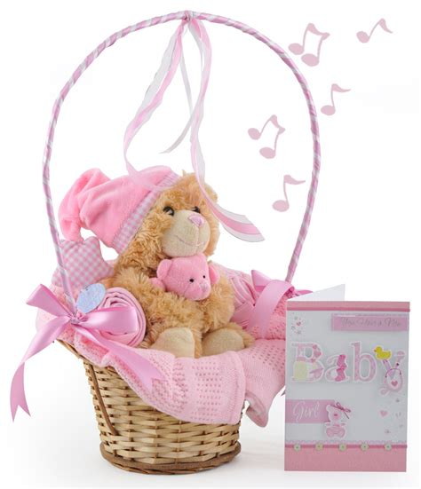 gift for baby musical cuddles baby gift basket at 163 32 99