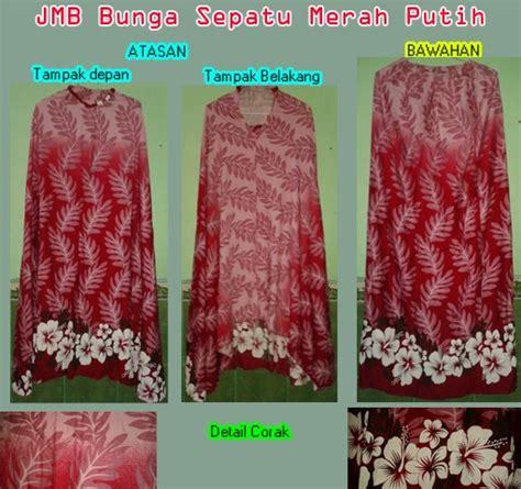Mukena Bunga 2 Jumbo mukena bunga sepatu merah putih ukuran jumbo griya