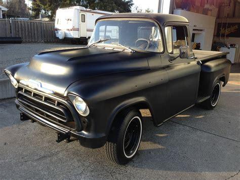 1957 chevy stepside pick up 1957 chevy stepside pickup 3100 youtube