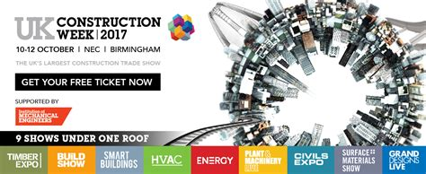 supported event uk construction week  birmingham cmp