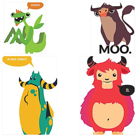 Animal Character 01 t shirt prints with animal characters free