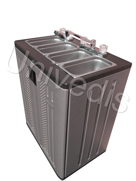 portable sink with water portable sink mobile concession compartment water