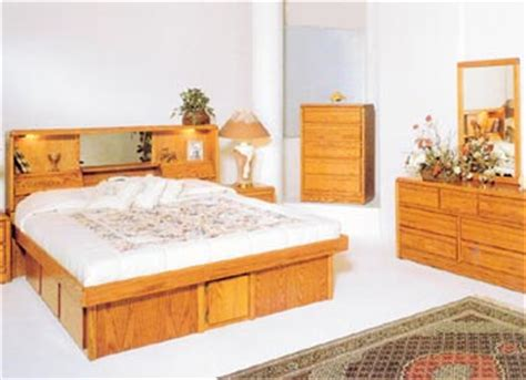 Waterbed Bedroom Sets Furniture Oak Free Shipping